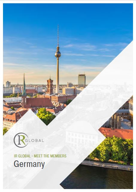 IR Global – Meet the Members – Germany Germany – Traditional High-Tech Hub