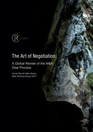 The Art of Negotiation – A Global Review of the M&A Deal Process