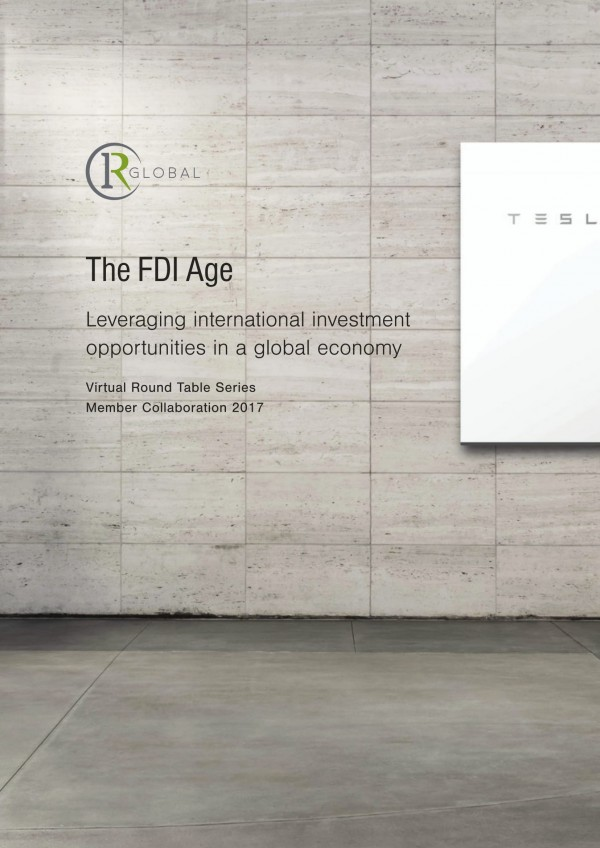 The FDI Age – Leveraging international investment opportunities in a global economy