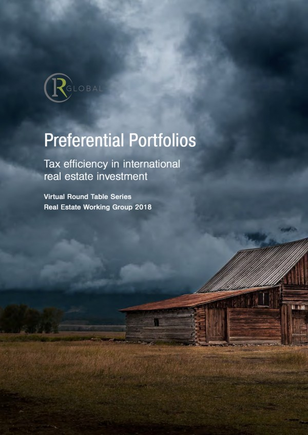 Preferential Portfolios – Tax efficiency in international real estate investment