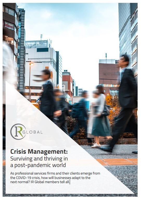Crisis Management: Surviving and thriving in a post-pandemic world