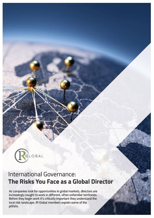 International Governance: The Risks You Face as a Global Director