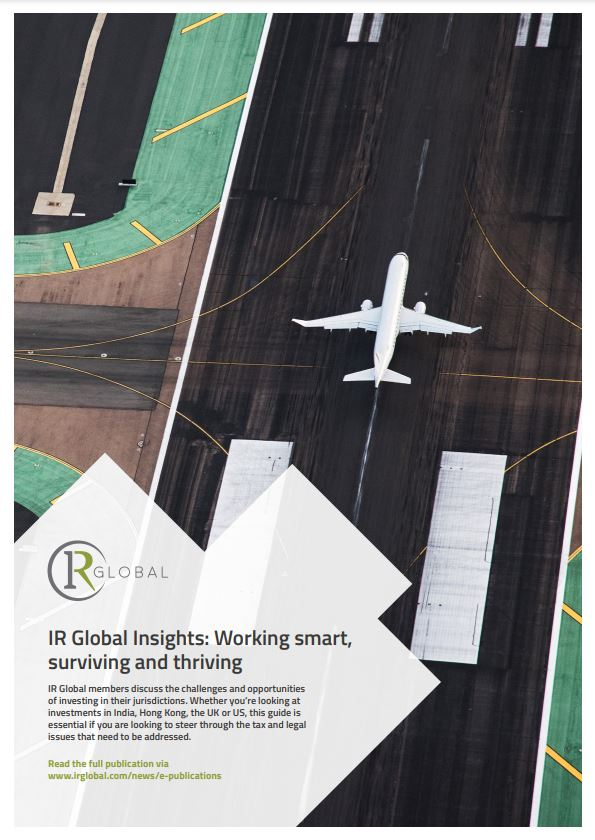 IR Global Insights: Working smart, surviving and thriving