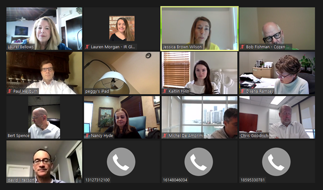 US Central Group Virtual Meeting – February 2021